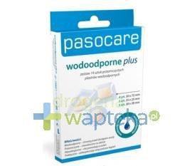 Pasocare Wodoodporne Plus plastry 14 sztuk
