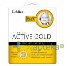 Lbiotica maska hydrożelowa na tkaninie active gold 1sztuka