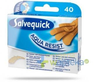 Plastry SALVEQUICK Aqua Resist 40 sztuk