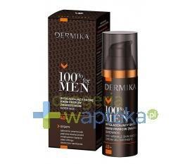 DERMIKA 100% FOR MEN Krem wygładzający skórę przeciw zmarszczkom 40+ dzień/noc 50ml