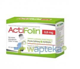ActiFolin 0,8 mg 30 tabletek  whited-out