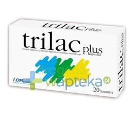 Trilac plus 20 kapsułek  whited-out