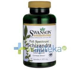 SWANSON Schizandra Berries 525mg 90 kapsułek