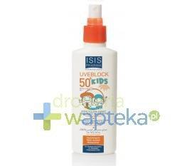 ISIS UVEBLOCK KIDS Spray przeciwsloneczny SPF50 + dla dzieci ULTRA-UVA UVB 150ml