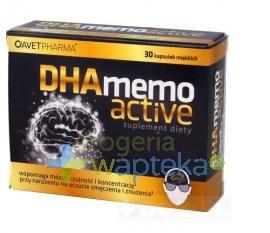 DHA Memo Active 30 kaspułek