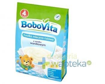 BoboVita Kaszka mleczno-ryżowa o smaku waniliowym po 4 miesiącu 230 g