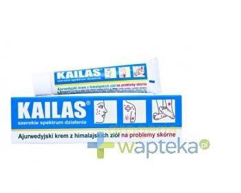 Kailas krem ajurwedyjski na problemy skórne 20 g  whited-out