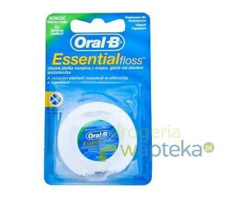 Nić dentystyczna ORAL-B Essen Floss Mint 50 m  whited-out
