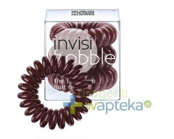 INVISIBOBBLE Gumki do włosów brązowe 3 sztuki  whited-out