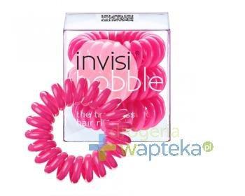 INVISIBOBBLE Gumki do włosów różowe 3 sztuki [WYPRZEDAŻ]