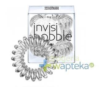 INVISIBOBBLE Gumki do włosów przezroczyste 3 sztuki  whited-out