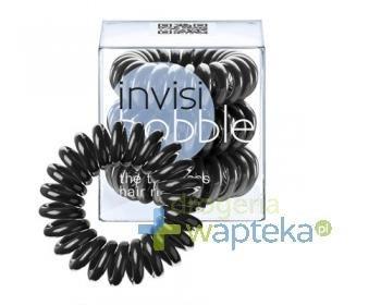 INVISIBOBBLE Gumki do włosów czarne 3 sztuki