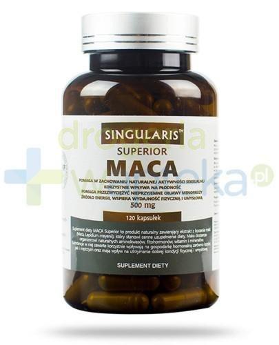 Singularis Superior MACA 500mg 120 kapsułek