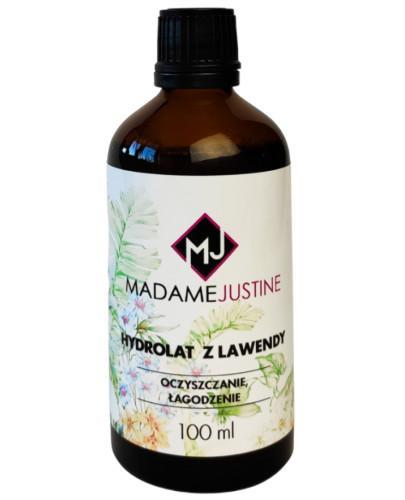 Madame Justine Hydrolat z lawendy 100 ml + Olejek do pielęgnacji skórek i dłoni 30 ml