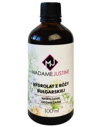 Madame Justine Hydrolat z róży bułgarskiej 100 ml + Olejek do pielęgnacji skórek i ...