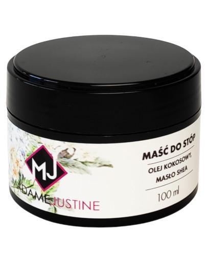 Madame Justine maść do stóp 100 ml + Olejek do pielęgnacji skórek i dłoni 30 ml