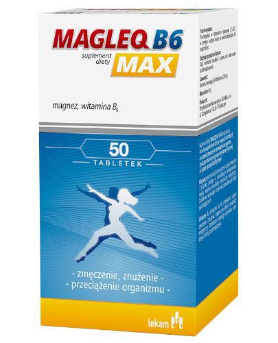 Magleq B6 Max 50 tabletek
