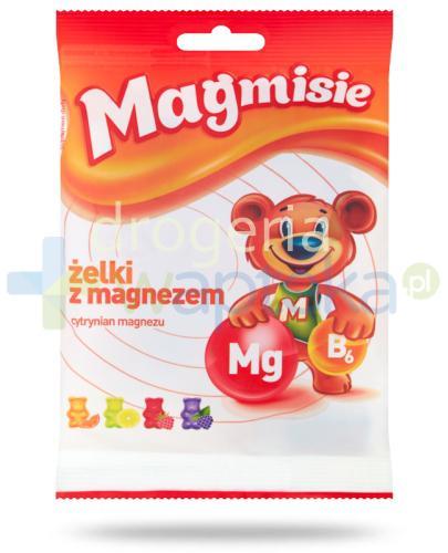 Magmisie Żelki z magnezem 135 g 30 sztuk