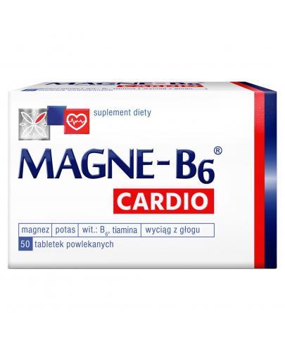 Magne-B6 Cardio Suplement diety magnez 50 tabletek