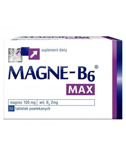 Magne-B6 Max Magnez + Witamina B6 50 tabletek