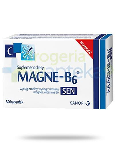 Magne B6 Sen 30 kapsułek  whited-out