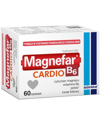 Magnefar B6 Cardio 60 tabletek