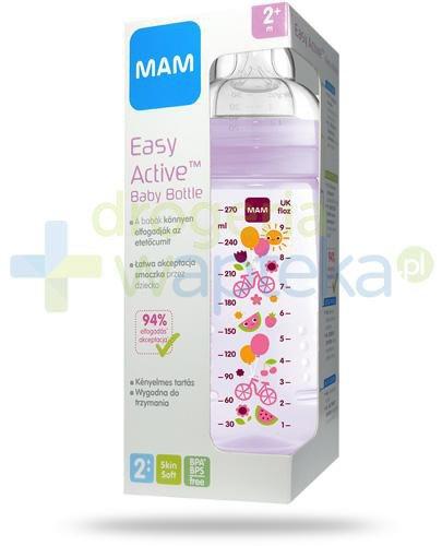 MAM Easy Active butelka 2m+ 270 ml ze smoczkiem przepływ 2 średni 1 sztuka [25513]