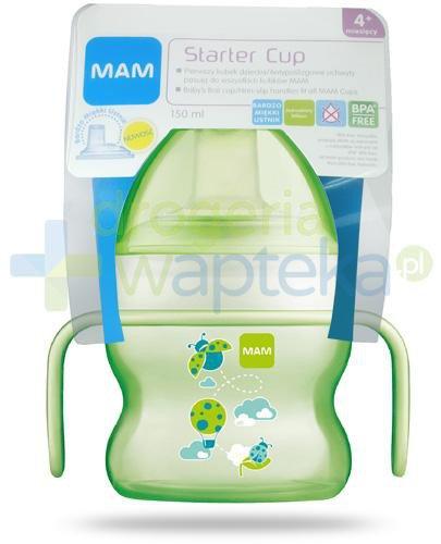 MAM Starter Cup kubek 4m+ 150 ml z bardzo miękkim ustnikiem 1 sztuka [27591]