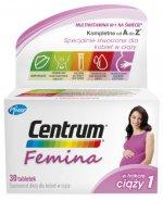 Centrum Femina 1 – witaminy i minerały dla kobiet w ciąży 30 tabletek
