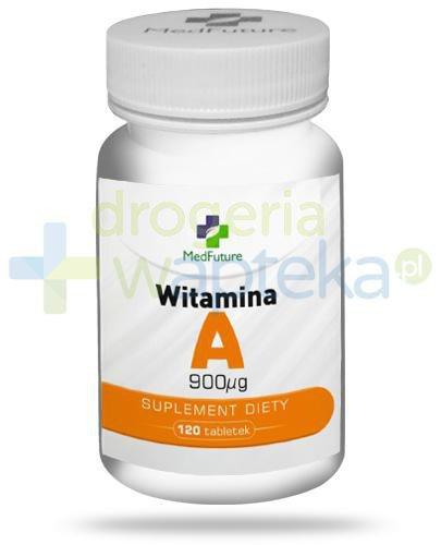MedFuture witamina A 900mcg 120 tabletek