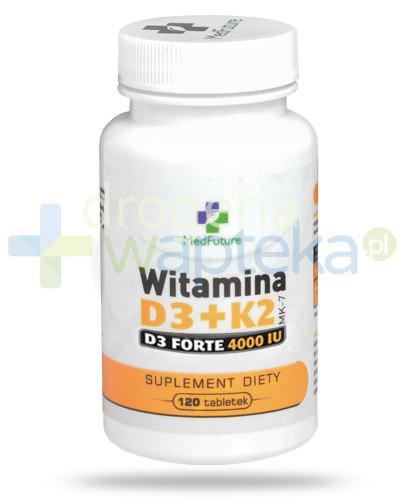 MedFuture witamina D3 + K2 MK7 Forte 4000 120 tabletek