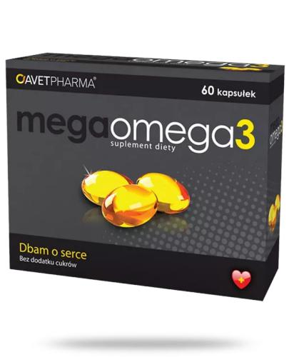 Mega Omega-3 60 kapsułek