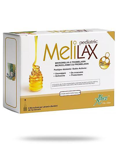 Melilax Pediatric mikrowlewka dla dzieci 6 sztuk  [DARMOWA DOSTAWA]