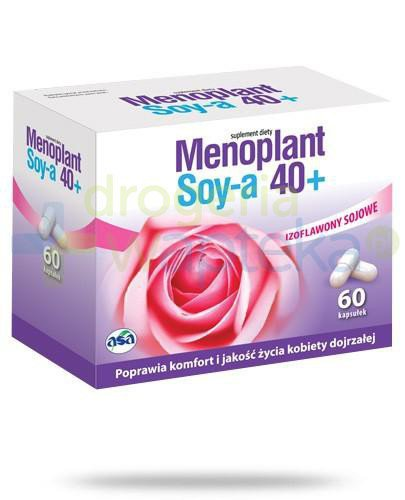 Menoplant Soy-a 40+ 60 kapsułek   whited-out
