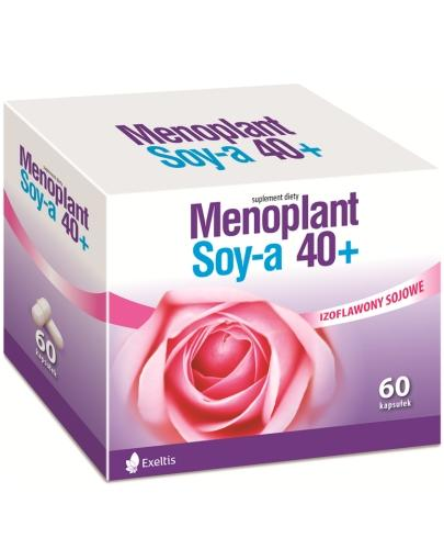 Menoplant Soy-a 40+ dla kobiet w okresie menopauzy 60 kapsułek