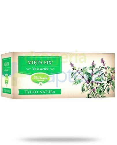 Herbapol Tylko Natura Mięta Fix zioła do zaparzania 30 szasetek