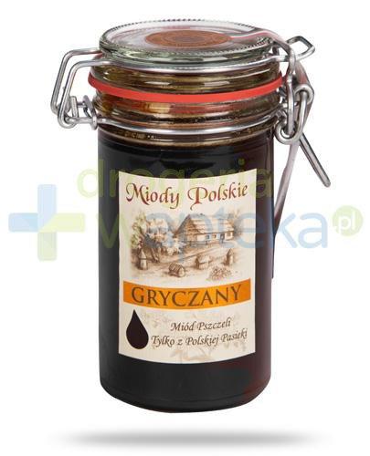 Miody Polskie miód naturalny gryczany 330 g