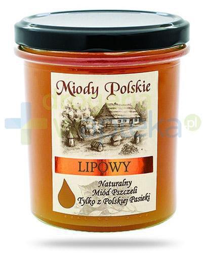 Miody Polskie miód naturalny lipowy 400 g