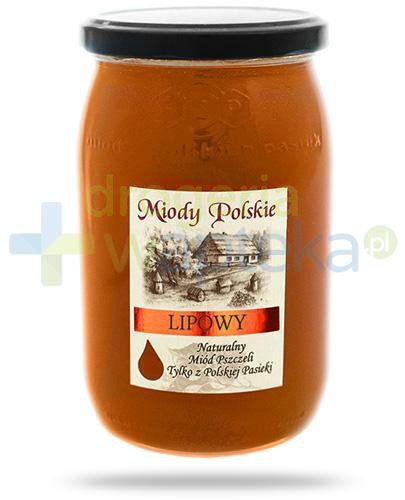 Miody Polskie miód naturalny lipowy 950 g
