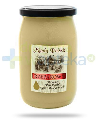 Miody Polskie miód naturalny rzepakowy 950 g