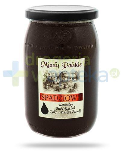 Miody Polskie miód naturalny spadziowy 950 g