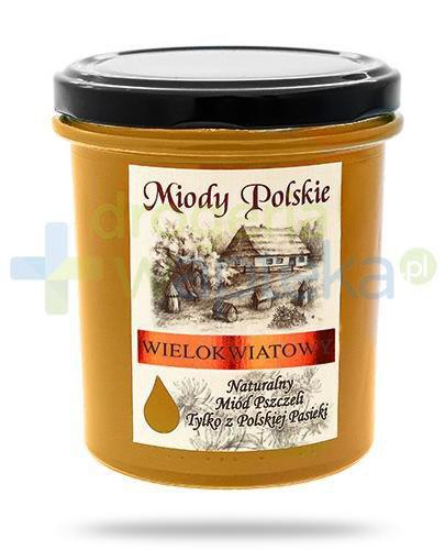 Miody Polskie miód naturalny wielokwiatowy z lipą 400 g