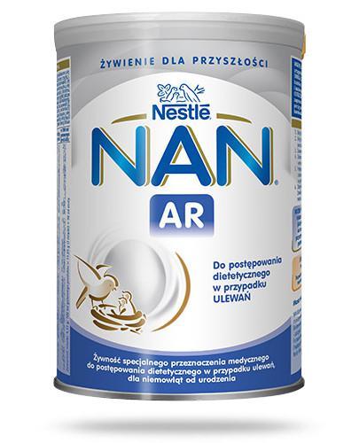 Mleko Nestlé NAN EXPERT A.R. dla niemowląt z tendencją do ulewań od urodzenia 400 g