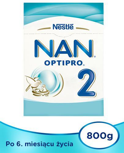 Mleko Nestlé NAN OPTIPRO 2 Mleko modyfikowane w proszku dla niemowląt powyżej 6 miesią...