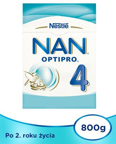 Mleko Nestlé NAN OPTIPRO 4 Mleko modyfikowane w proszku dla dzieci po 2 roku 4x 800 g [WI...