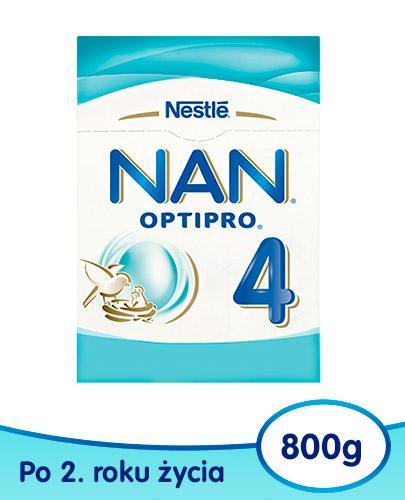 Mleko Nestlé NAN OPTIPRO 4 Mleko modyfikowane w proszku dla dzieci po 2 roku 6x 800 g [WIELOPAK]