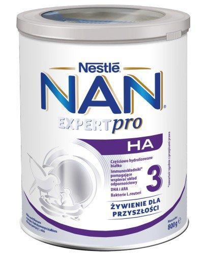 Mleko Nestlé NAN OPTIPRO HA 3 Mleko modyfikowane w proszku dla dzieci powyżej 1 rok...