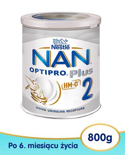 Mleko Nestlé NAN OPTIPRO Plus 2 HM-0 Mleko modyfikowane w proszku dla niemowląt powyże...