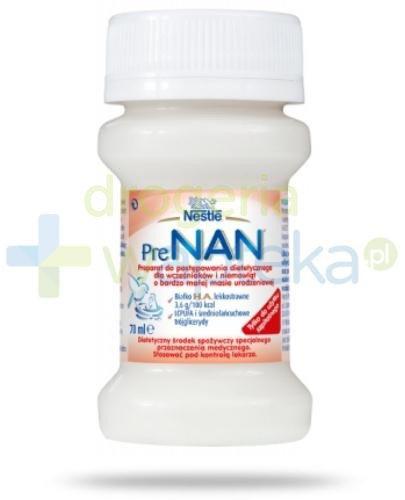 Mleko Nestlé NAN dla wcześniaków 70 ml