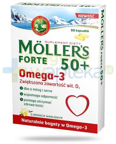 Mollers Forte 50+ Omega-3 60 kapsułek